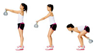 techniques used for kettlebell exercises