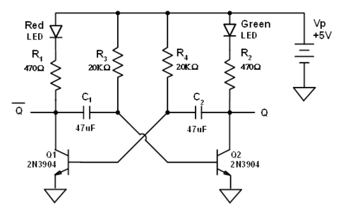 transistor schmitt trigger circuit