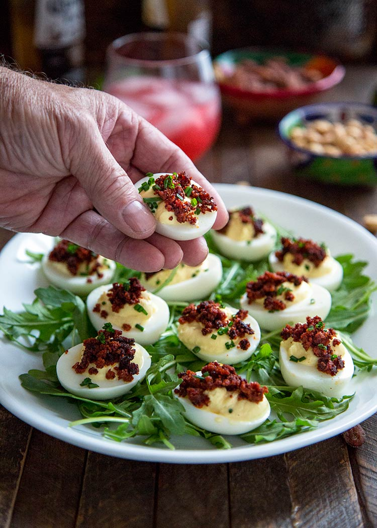 Fullsize Of Spicy Deviled Eggs