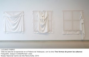 Luciano Fabro siempre trabajó con materiales sencillos y cotidianos/ Photo Credits: MNCARS