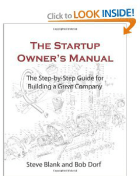 Pic of book: The Startup Owner's Manual by Steve Blank
