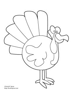Image Result For Turkey Dinner Coloring