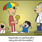 Cartoon: Gift of Silliness