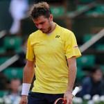 Stan Wawrinka after losing to Guillermo Garcia-Lopez (© FFT)