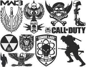 Call Of Duty Gamer Embroidery Designs