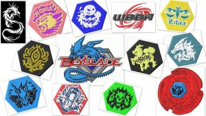 BeyBlade Embroidery Designs Set