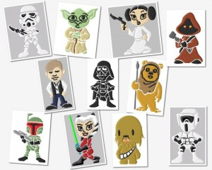 junior star wars embroidery designs