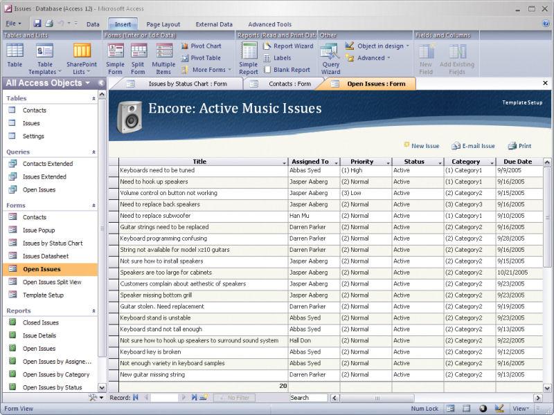 oficce access - Muckgreenidesign