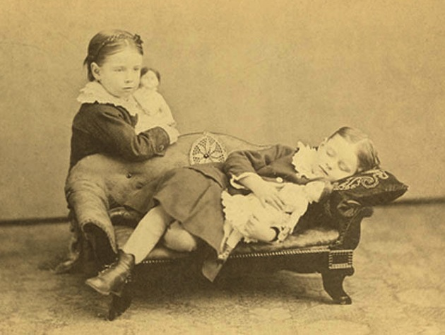 Baby Chair Upright Creepy Victorian Photos Of The Dead