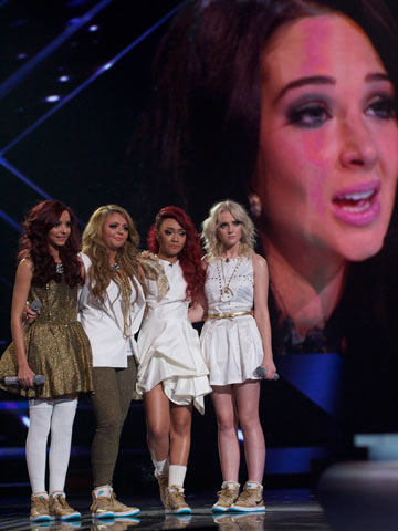 Beauty Body Girl Wallpaper X Factor Results Winner Little Mix Beat Marcus Collins To