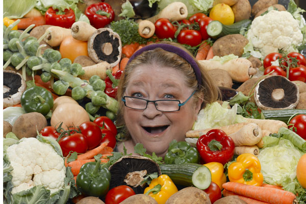 Rosemary Shrager appeared as the resident chef on The Alan Titchmarsh Show