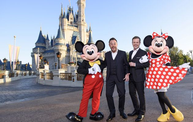 Ant and Dec Mickey and Minnie
