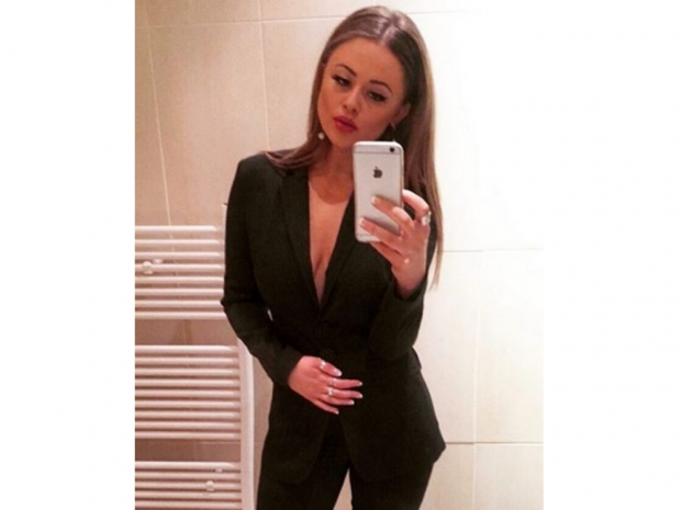 Emily Atack Totally Nails Power Chic At The Empire
