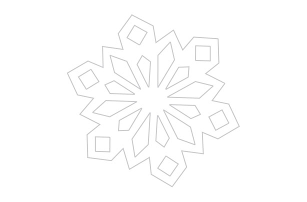 How to make paper snowflakes Get our FREE templates!