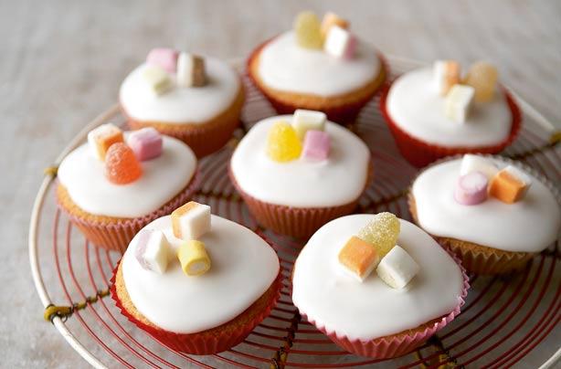 Mary Berry39s Iced Fairy Cakes Snack Recipes Goodtoknow