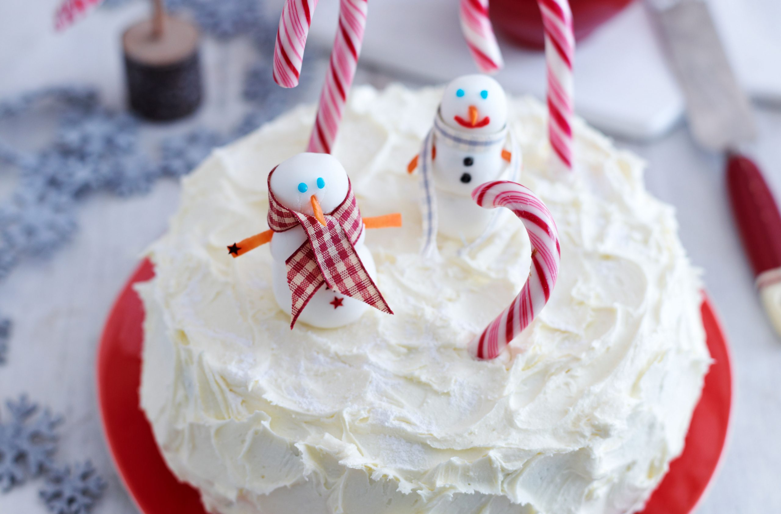 40 Christmas Cake Ideas Simple Christmas Cake Decorations And Designs Goodtoknow
