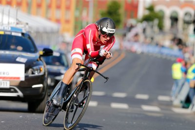 Denmark's Mikkel Bjerg puts in unstoppable performance to win men's U23 time trial world title ...