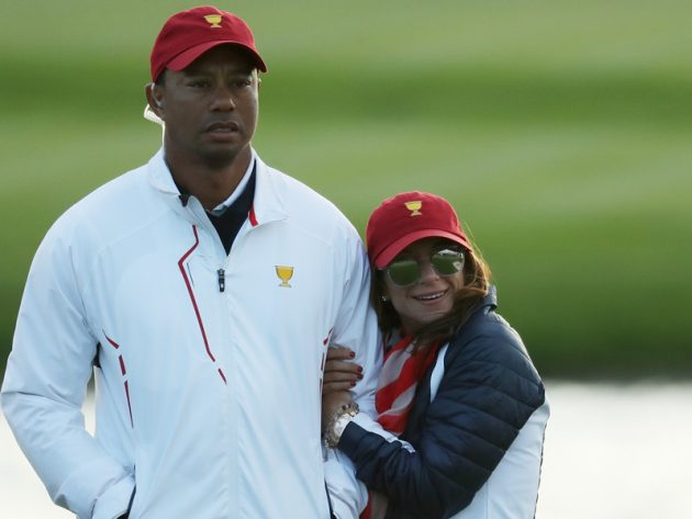 current photo of tiger woods children 2018 pictures