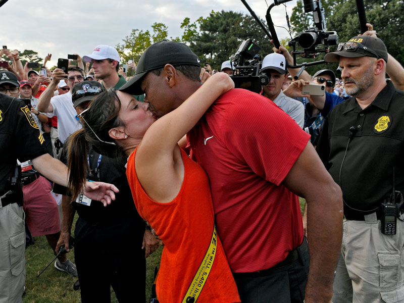 is tiger woods ex wife married