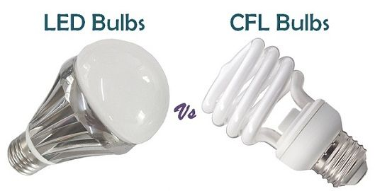 Difference Between LED and CFL bulbs (with Similarities and