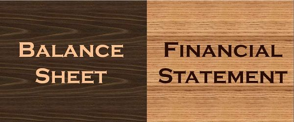 Difference Between Balance Sheet and Financial Statement (with