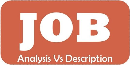 Difference Between Job Analysis and Job Description (with Comparison - job analysis