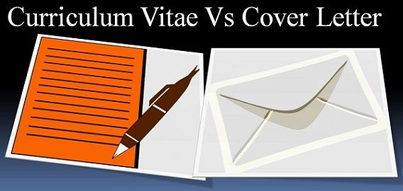 Difference Between CV and Cover Letter (with Comparison Chart) - Key