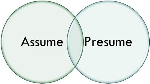 Difference Between Assume and Presume (with Comparison Chart) - Key