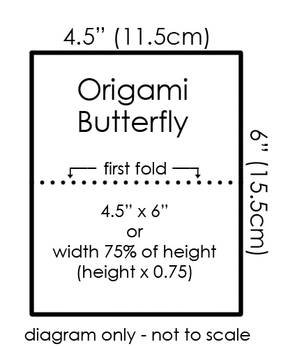 origami butterfly diagram origami me pinterest