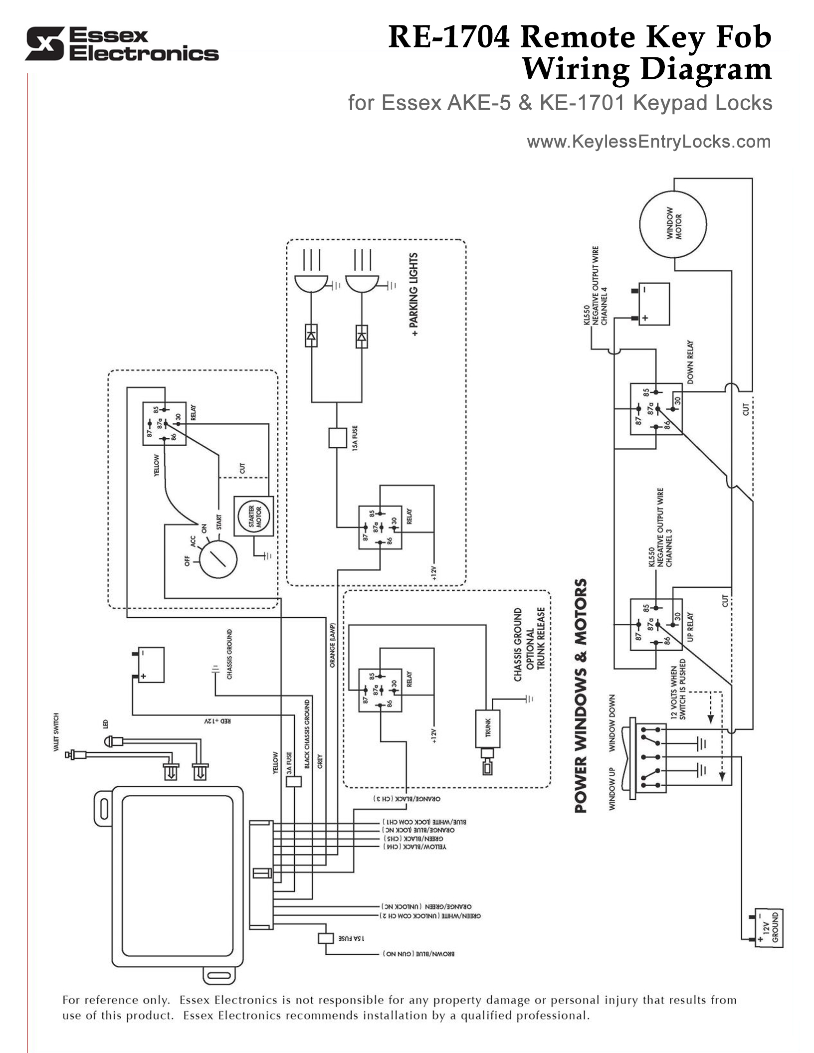 car main wiring diagram