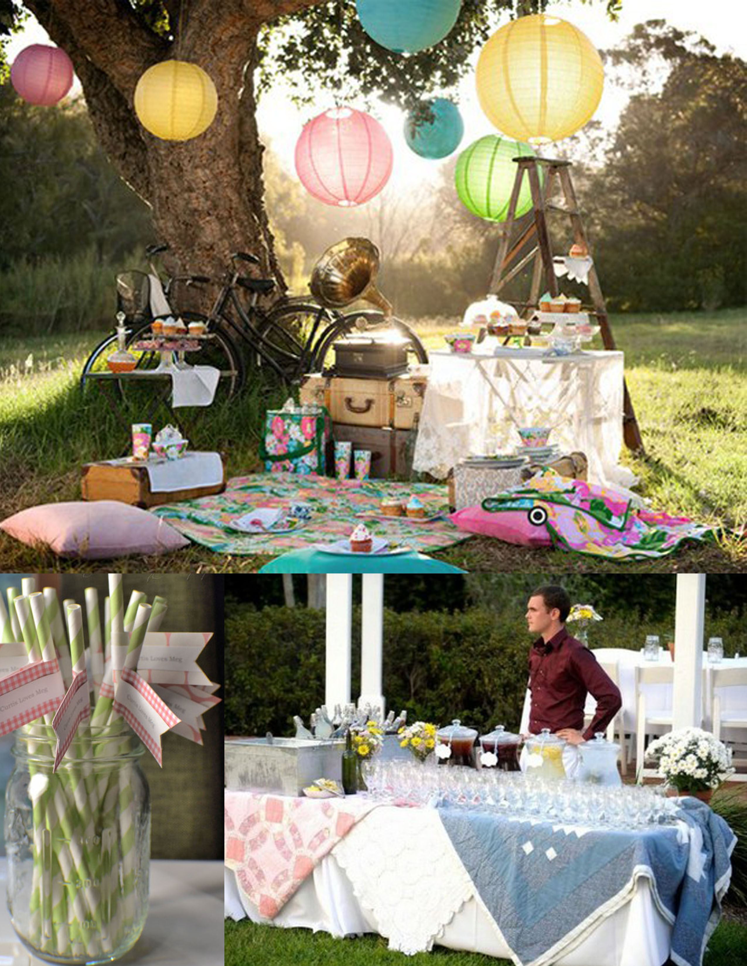 Picnic Themed Decorations A Perfect Southern Picnic Wedding