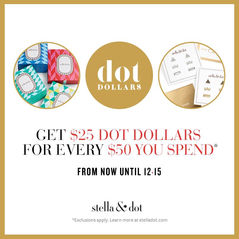 Stella & Dot Holiday Dollars 2015