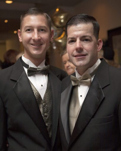Paul Gray and Mike McGrath — twinsies!