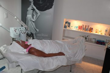 Pampered spa guests enjoy a private room in quiescence.