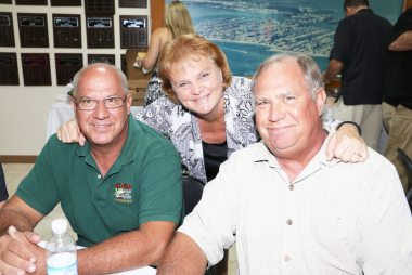 Jackie, Johnnie and George Eigner keep it all in the family.