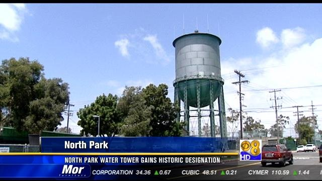 North Park Water Tower Gains Historic Designation Cbs