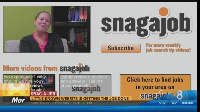 Little-known website is getting the job done - CBS News 8 - San