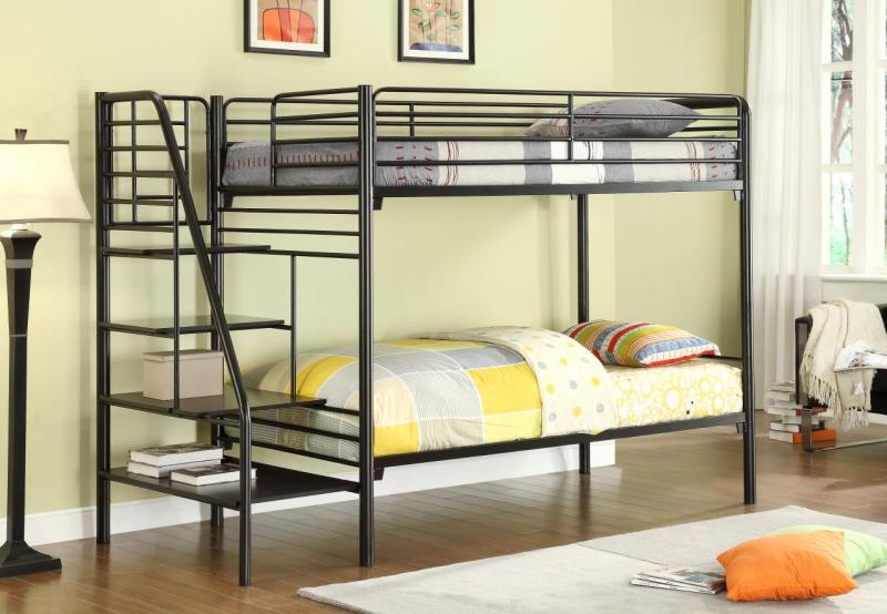Large Of Bunk Bed With Stairs