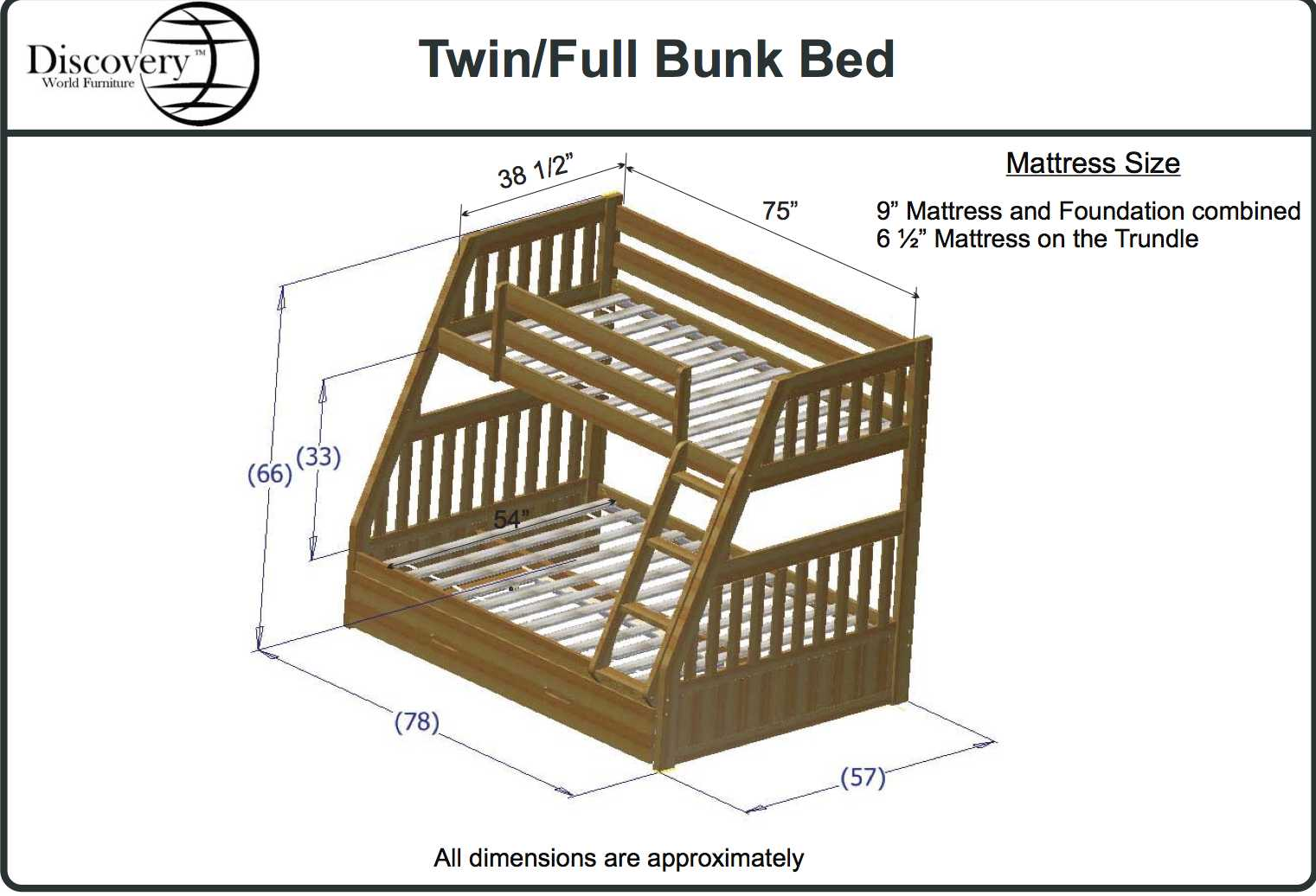 Bunk Bed Dimensions Twin Bunk Bed Dimensions Roole