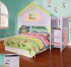 Small Of Girls Loft Bed