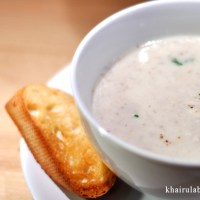 Sup Cendawan Hidangan Raya