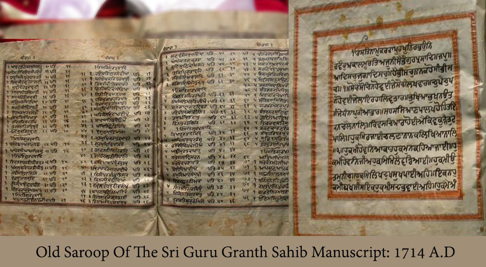 Puratan Saroop Of The Sri Guru Granth Sahib Manuscript: 1714 A.D. PDF
