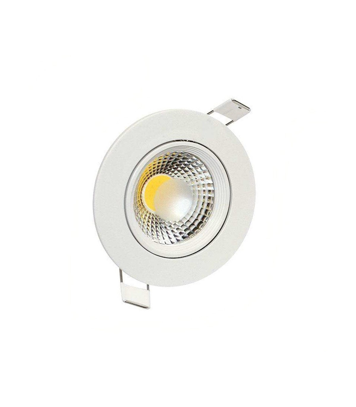Luces Downlight Led Led Empotrable 7w Downlights Circular Cob