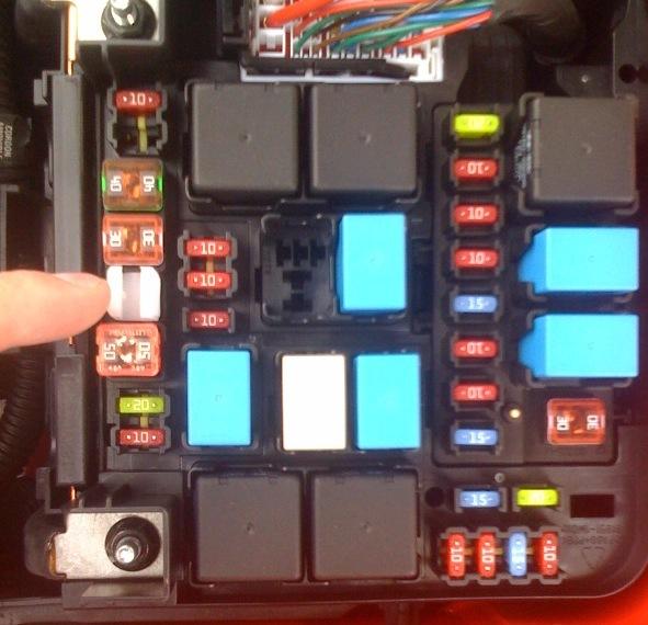 2011 Kia Forte Fuse Box Control Cables  Wiring Diagram