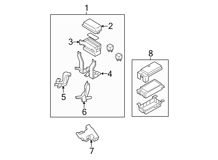 2003 kia sorento fuse box diagram view diagram