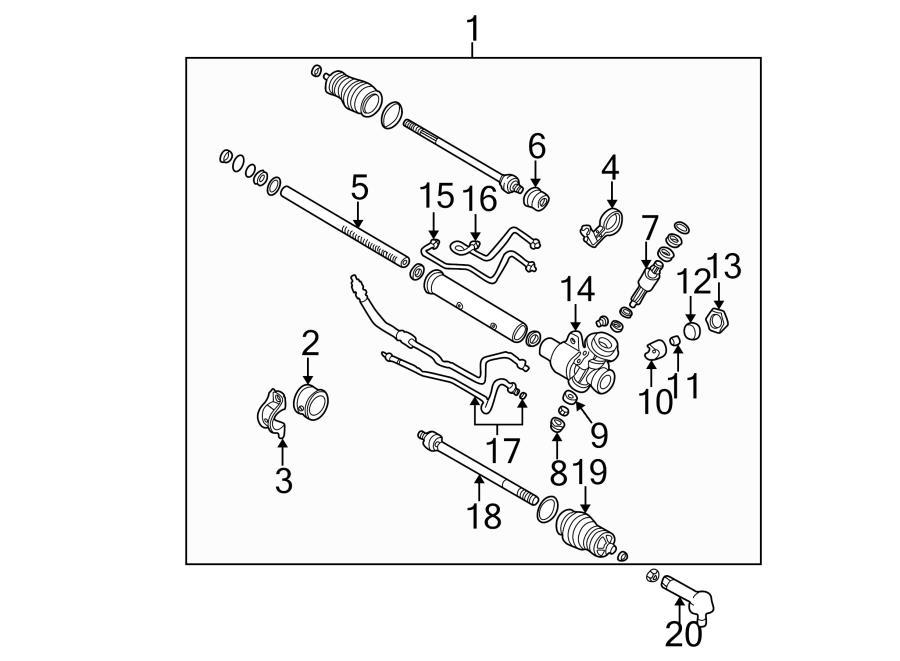 kia sedona motor mount diagram