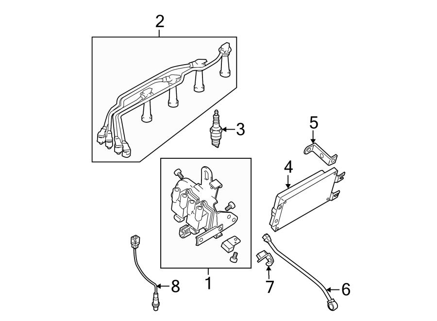 2006 kia sportage spark plug wire diagram