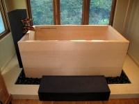 Japanese soaking tubs, ofuro