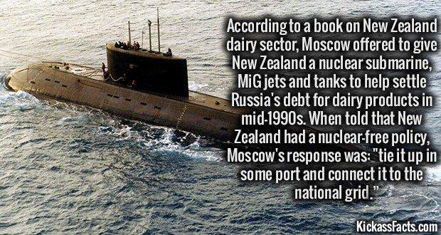 1079 New Zealand Nuclear Submarine