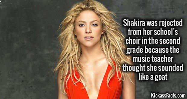 1142 Shakira Goat Voice
